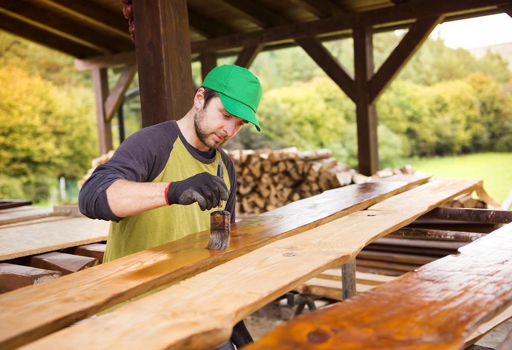 Impregnat do drewna.