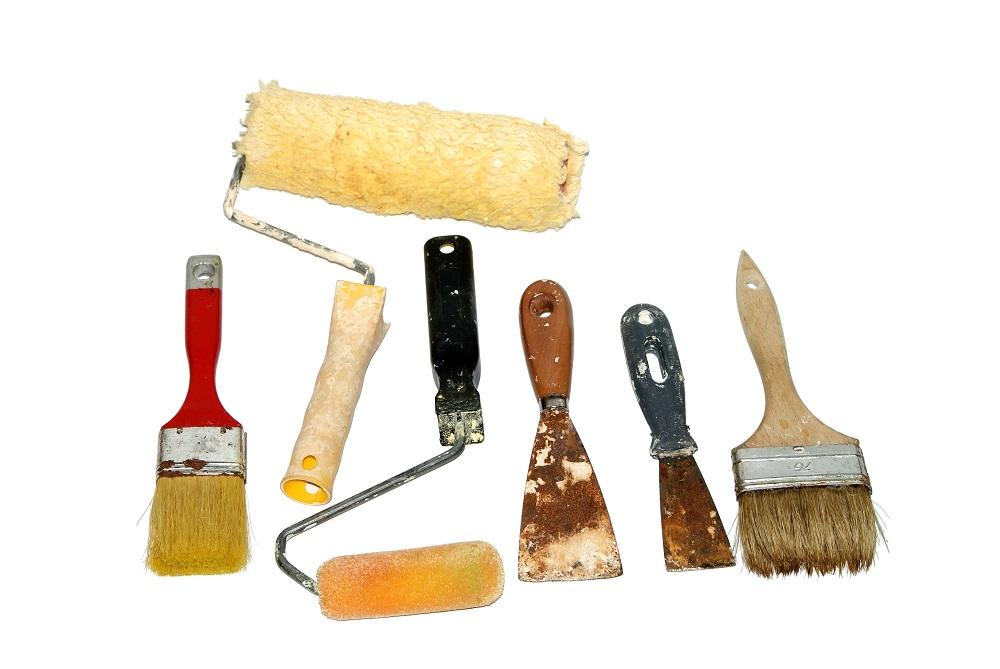 Najpopularniejsze narzędzia malarskie