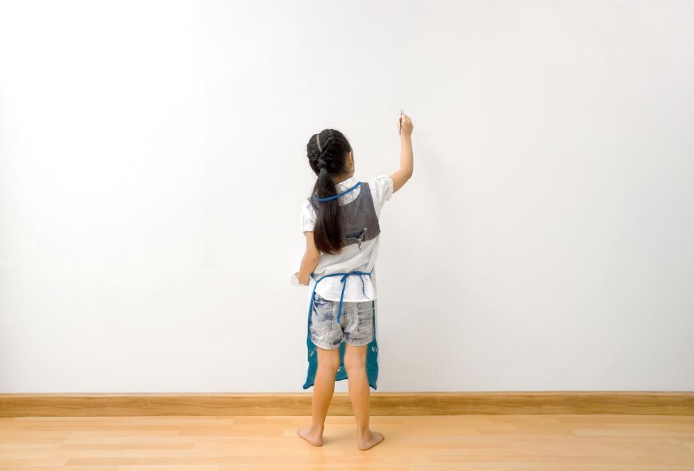 Dziecko maluje