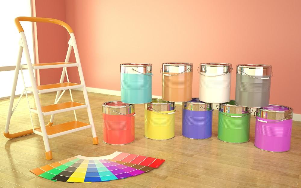 Paleta kolorów ściany