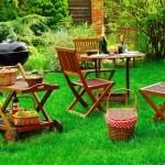 Meble ogrodowe drewniane, czym pomalować?